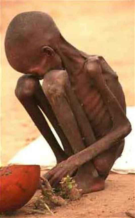 practical faith: starvation produces starvation