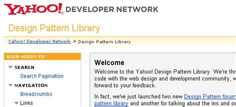 pattern library website 推荐20个关于网站可用性及界面设计的网站 学步园