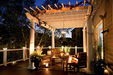 Outdoor Pergola Lights Five Pergola Lighting Ideas To Illuminate Your Outdoor Space