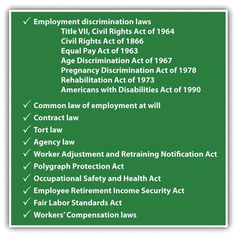 statement of employees rights section 30 federal employment discrimination laws