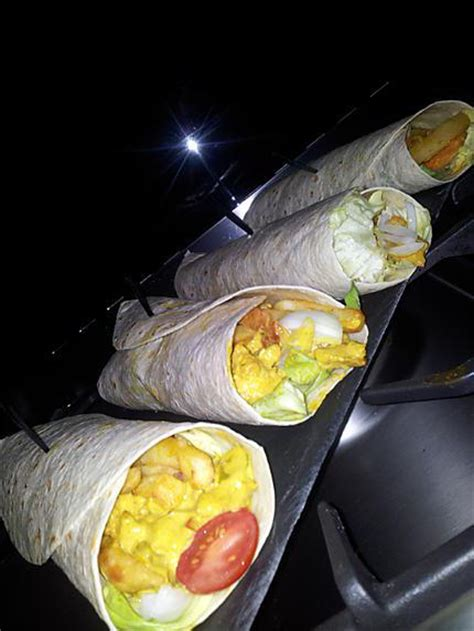 kebab poulet maison recette de galette kebab au poulet curry et frites
