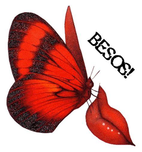 Imagenes De Mariposas Para Wasap | 7 im 225 genes bonitas con movimiento con frase de besitos