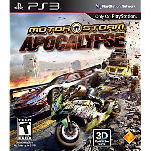 motorstorm apocalypse playstation 3 game