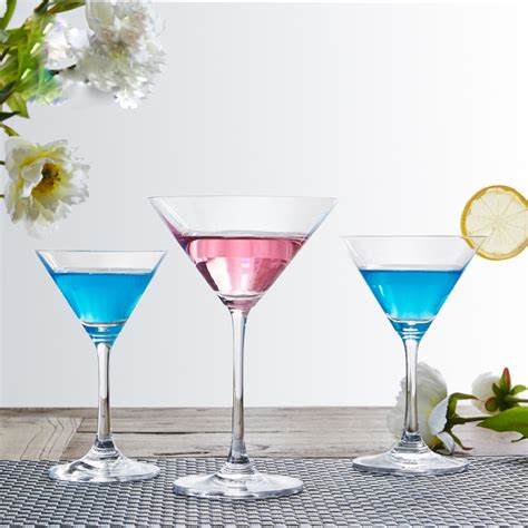 Bulk Cocktail Glasses Lead Free Glass Cocktail Glass Martini Glasses