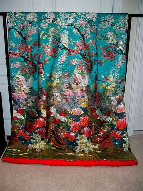 kimono pattern symbolism wedding kimono woven wedding kimono uchikake with a