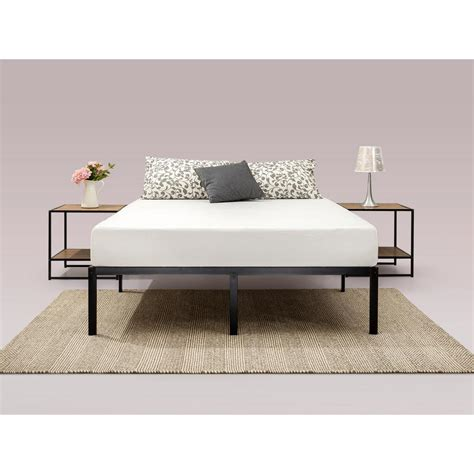 modern twin bed frame lillehammer bed frame goes mid zinus modern studio 14 in king platform bed frame hd smpb