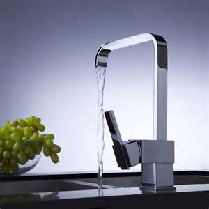 Contemporary Kitchen Faucets Contemporary Brass Kitchen Faucet Chrome Finish At Faucetsdeal
