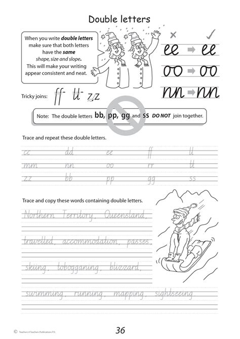 letter writing conventions australia handwriting conventions nsw year 4 teachers 4