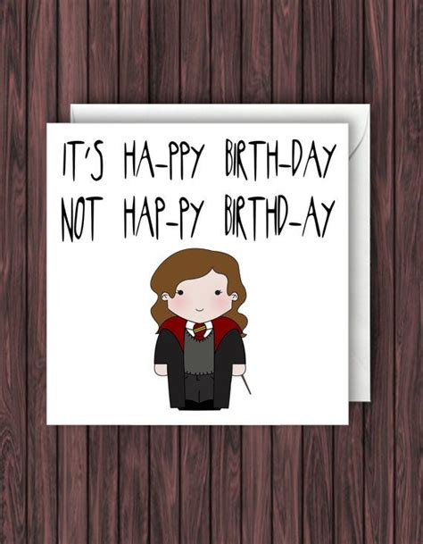card template hermine levi o sa harry potter birthday card by