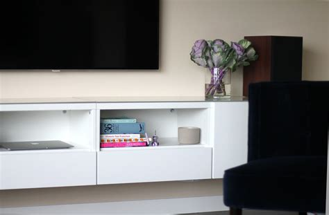 media console ikea ikea media cabinet still stunning even tv s off homesfeed