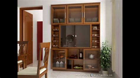crockery cabinet designs modern interior gallery crockery shelf sles youtube