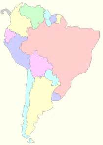 printable map of south america for