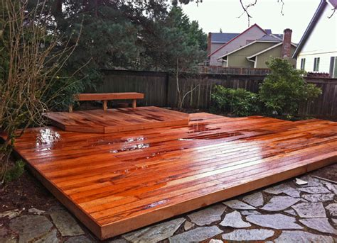 Tiger Deck by Combat And Clean Mold From Your Wood Deck All About The