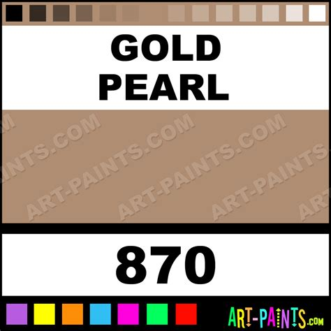 gold pearl finest artist gouache paints 870 gold pearl paint gold pearl color calligraphy