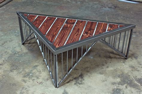 triangle coffee table on behance