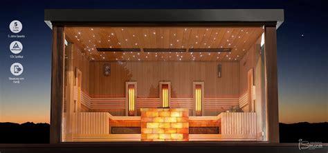 garten sauna gartensauna luxus saunahaus finnische gartensauna