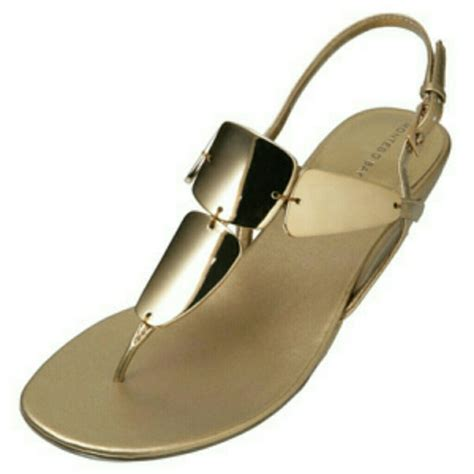 montego bay sandals shoes 57 montego bay club shoes s gold shiny metal