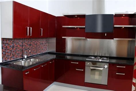 kitchen interior design with red cabinets neo classical image result for maroon color kitchen cabinets kitchen