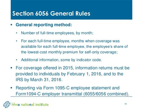 irs section 6056 healthcare industry tax update 2014