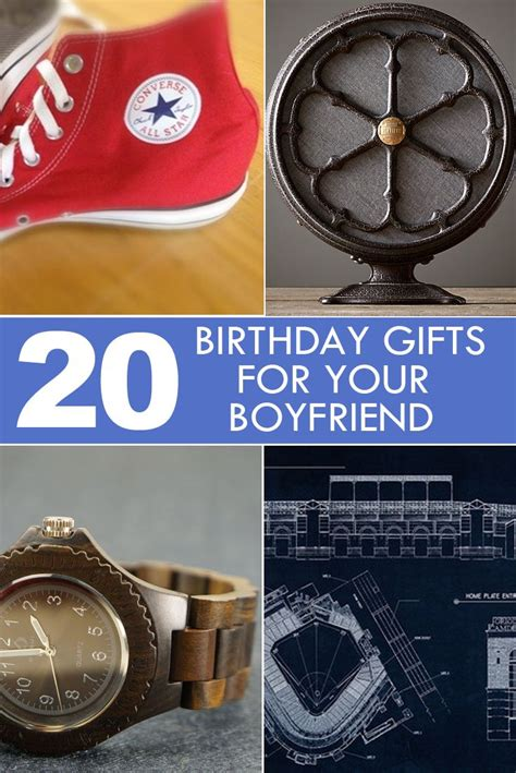 20 birthday gifts for your boyfriend or other man in your