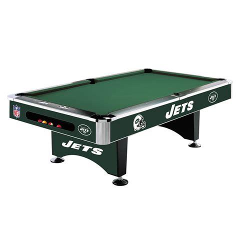 8 pool table 8 nfl york jets team logo pool table