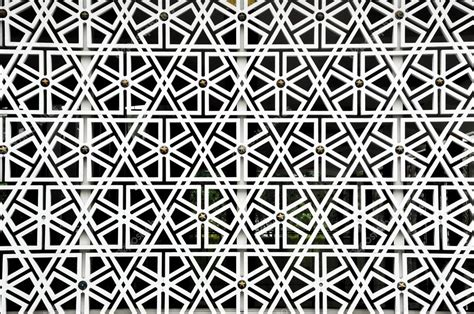 islamic pattern wall islamic geometry pattern at masjid negara wall stock