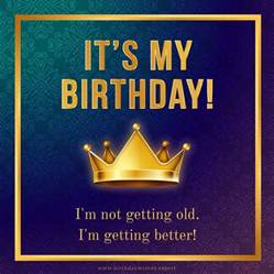 Wishing My Happy Birthday My Birthday Facebook Status Update Happy Birthday To Me