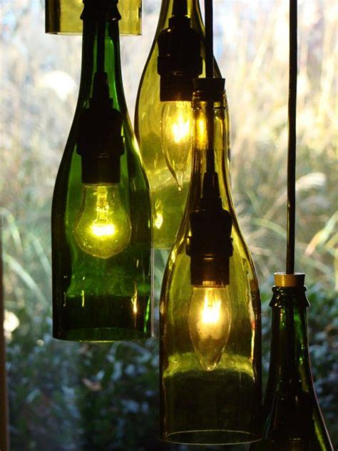 lights wine bottle wine bottle lights basement