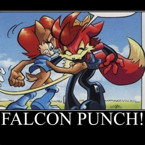 Falcon Punch Meme - 17 best images about sonic on pinterest shadow the