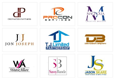 design a logo using initials initial logo designs by designv 174 for 39