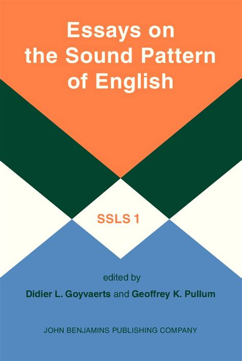 sound pattern in language essays on the sound pattern of english avaxhome