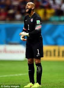 Bummer For Tim Faith by Tim Howard Was The Us Of Defence But Belgium