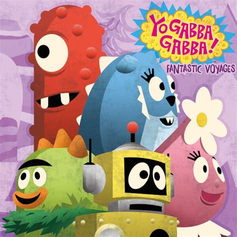 go gabba gabba yo gabba gabba fantastic voyages zavvi exclusive vinyl