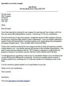 Speculative cover letter examples forums learnist org