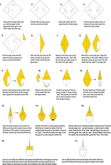 how to make a origami computer erika decker