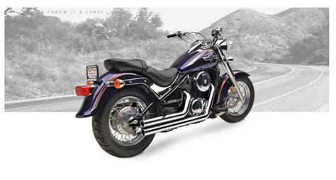 95 Kawasaki Vulcan 800 by Krome 2 5 Quot American Classic Straights Kawasaki