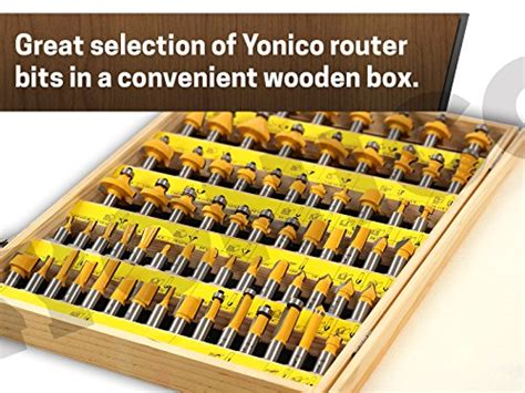 Steel Patio Set Yonico 17702 70 Bits Professional Quality Router Bit Set