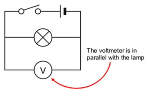 parallel circuits potential difference gcse bitesize current and potential difference