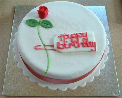 rose birthday cake stock photo freeimagescom