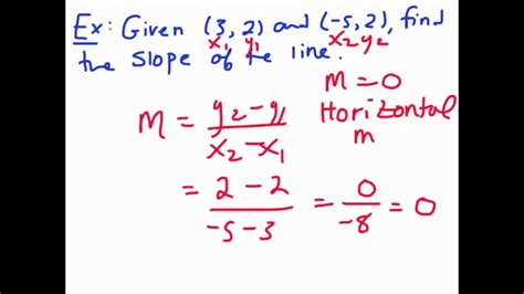 How To Find On Line Slope Formula Finding Slope Of A Line Given Two Points