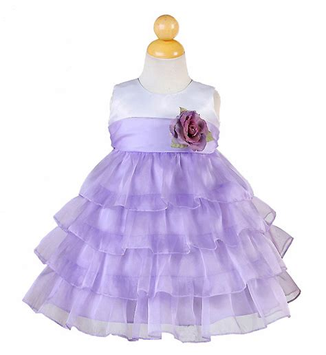 baby purple dress lilac flower dresses purple glitter pageant dress