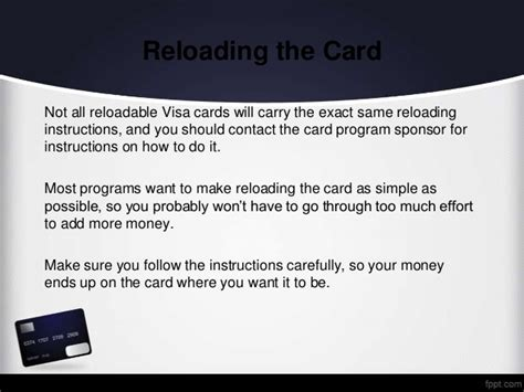 How To Reload A Visa Gift Card - how to reload a prepaid visa card