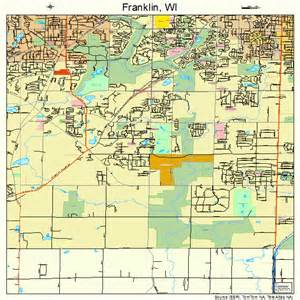 franklin wisconsin map 5527300