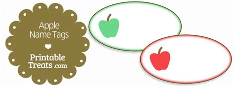 printable apple name tags apple archives page 6 of 7 printable treats com