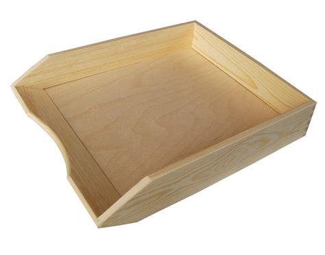 A4 Paper Craft - a4 paper plain wood wooden desk organiser decoupage craft