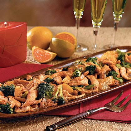 spicy ginger and orange chicken with broccoli recipe 1