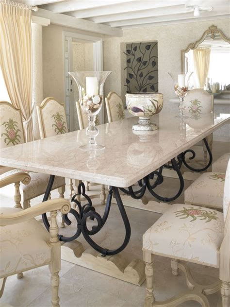 Dining Table Bench Dubai Looking White Marble Dining Table With Black Iron