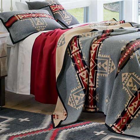 native american bedding native american inspired blankets crossroads blanket by pendleton pendleton beds