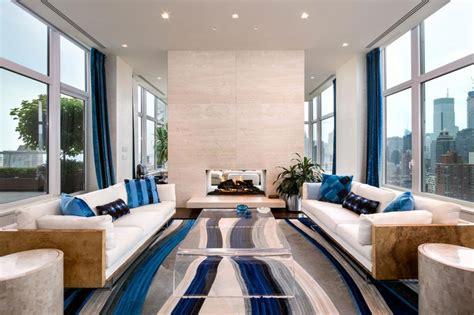 appartamenti pi禮 belli mondo splendido attico a new york con rivestimenti in travertino