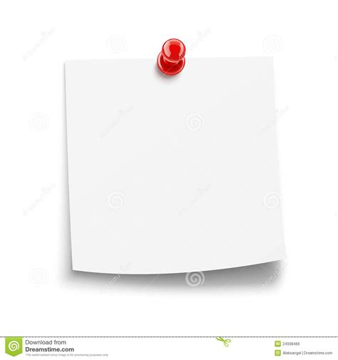 Kertas Post It Paper Notice With Pin Stock Vector Image Of Vector Keep